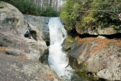 Bard Falls - Pisgah National Forest