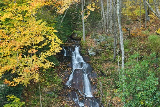 Crabtree Falls Blue Ridge Parkway North Carolina