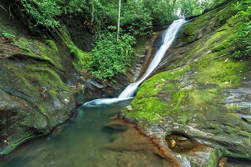 Cody Falls - Pisgah National Forest