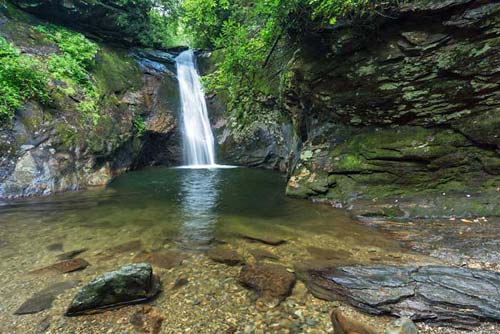 Courthouse Falls - Pisgah National Forest