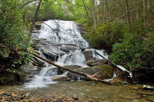 Cove Creek Falls - Pisgah National Forest