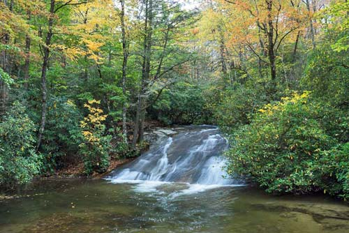 waterfall on Cove Creek