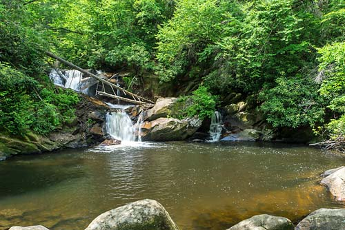 Dennis Cove Falls - Cherokee National Forest