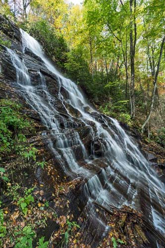 Discovery Falls - Pisgah National Forest