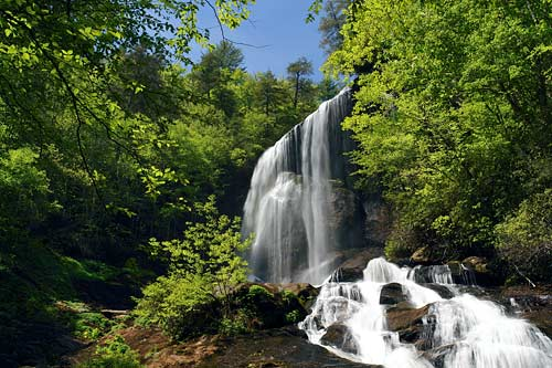 Flat Creek Falls - Nantahala National Forest