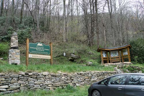 Florence Nature Preserve and Little Bearwallow Falls parking