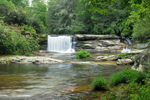 French Broad Falls - Living Waters Ministry