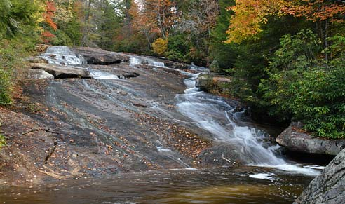 Grassy Creek Falls - DuPont State Forest