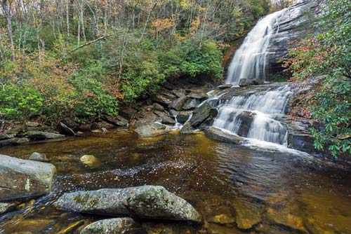 Greenland Creek Falls - Panthertown Valley