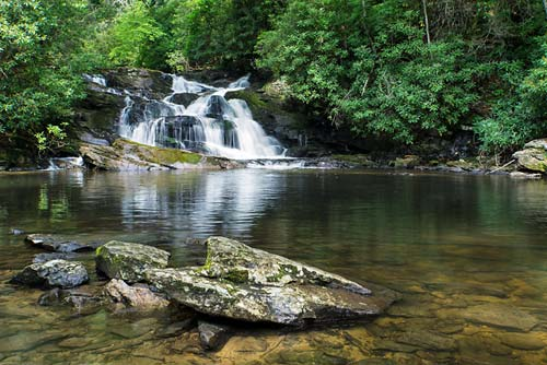 High Falls - Pisgah National Forest