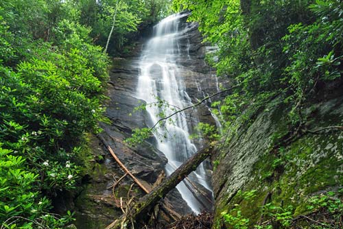Laurel Fork Falls - Pisgah National Forest
