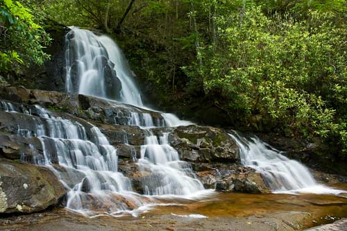 Laurel Falls - Great Smoky Mountain National Park
