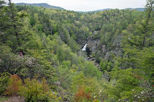 Linville Falls - Erwins View