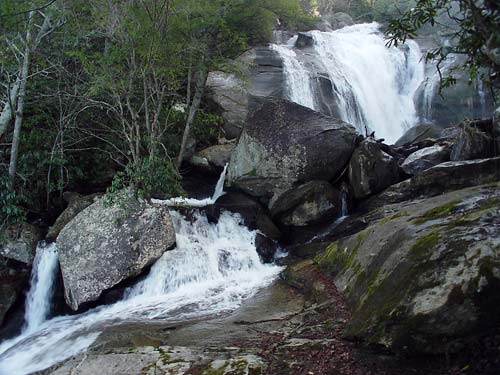 2nd waterfall on Middle Creek 12-12-04
