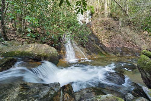 Oil Camp Falls - Jones Gap State Park, South Carolina