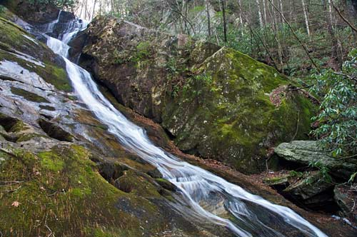 waterfall on Phillips Branch