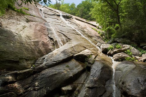 waterfall on Pool Creek - Chimney Rock State Park