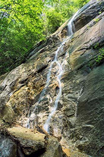 Poundingmill Branch Falls - Pisgah National Forest