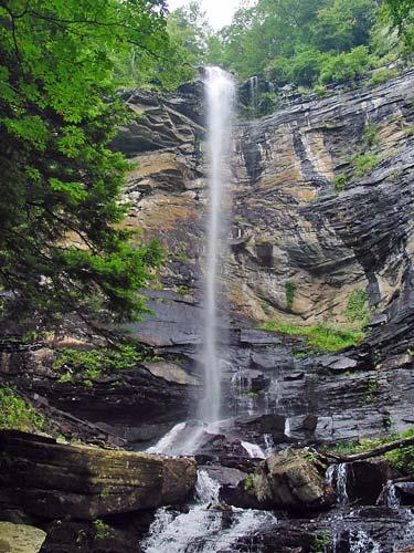 Rainbow Falls South Carolina Jones Gap State Park - Sc waterfalls map