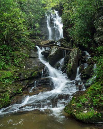 Reece Place Falls - Headwaters State Forest