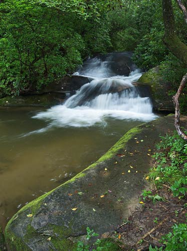 waterfall on Rockhouse Creek