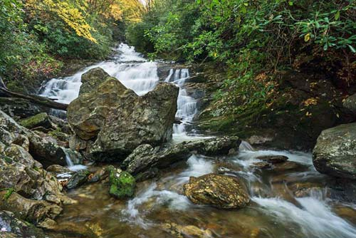 Sam Branch Falls - Pisgah National Forest