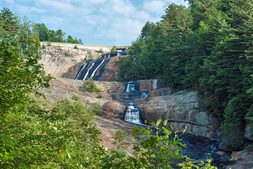Toxaway Falls - Gorges State Park
