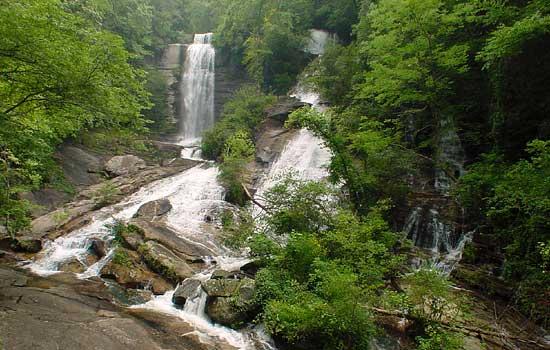 Twin Falls Pickens County South Carolina Reedy Cove