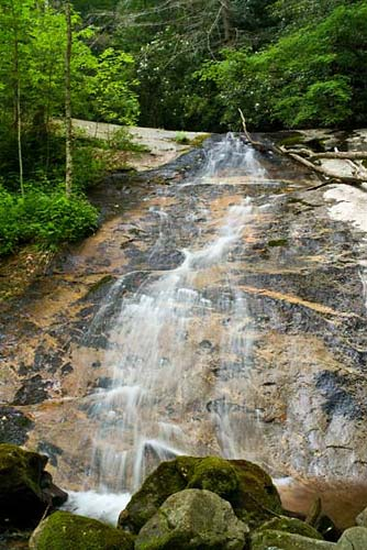 Upper Courthouse Falls - Pisgah National Forest