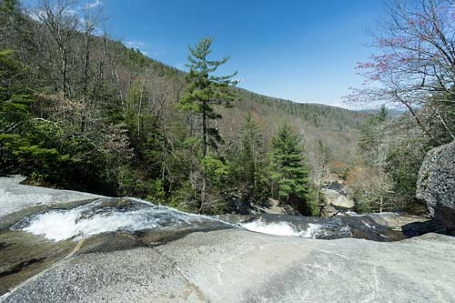 top of Upper Creek Falls