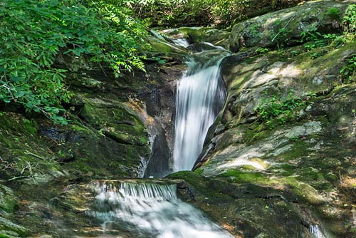 Upper Kiesee Falls - Pisgah National Forest