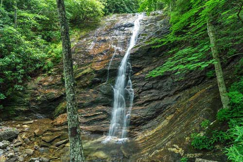 Wash Hollow Falls - Pisgah National Forest