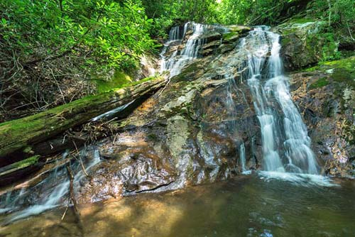Yellow Patch Falls - Nantahala National Forest