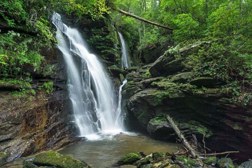 upper Reece Place Falls - Headwaters State Forest